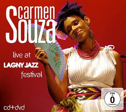 Portada del disco «Live at Lagny Jazz Festival» de Carmen Souza.