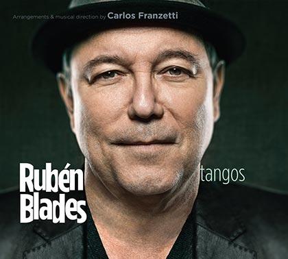 Portada del disco «Tangos» de Rubén Blades.