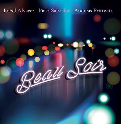 Portada del disco «Beau soir» de Isabel Álvarez, Iñaki Salvador y Andreas Prittwitz.