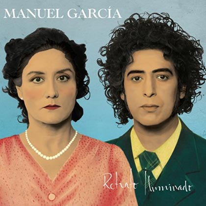 Portada del disco «Retrato Iluminado» de Manuel García.