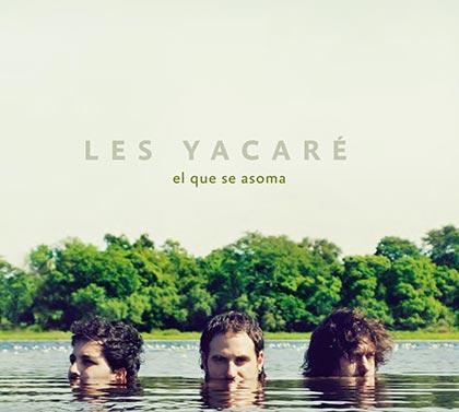 Portada del disco «El que asoma» de Les Yacaré.