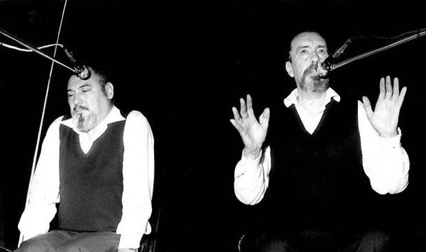 Hamlet Lima Quintana y Armando Tejada Gómez