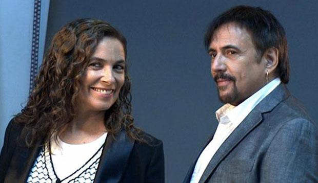 Sandra Mihanovich  y Alejandro Lerner.