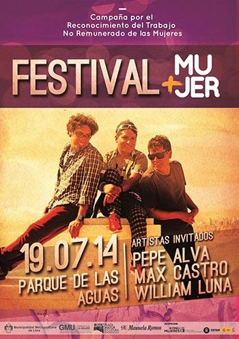 Festival más mujer de Lima 2014