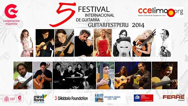 V Guitarfestperú 2014 Festival Internacional de Guitarra 2014