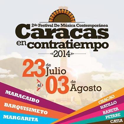 II Festival Caracas en Contratiempo 2014