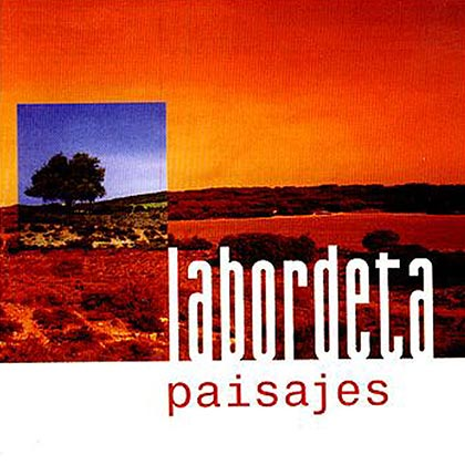 Portada del disco «Paisajes» de José Antonio Labordeta.