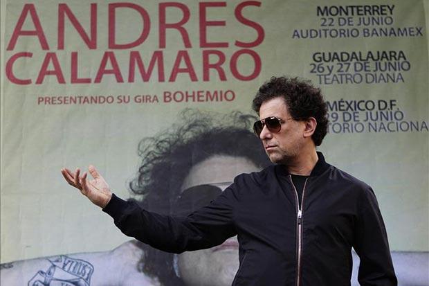 Andrés Calamaro © EFE