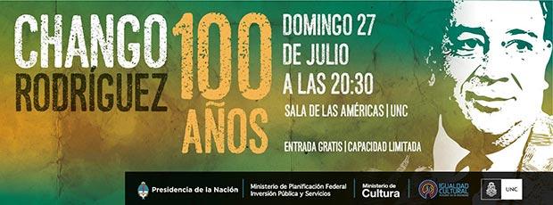 Festival en el centenario del nacimiento del Chango Rodríguez