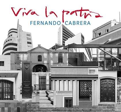 Portada del disco «Viva la patria» de Fernando Cabrera.