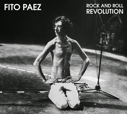 Portada del disco «Rock and Roll Revolution» de Fito Páez.