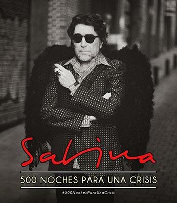 Sabina regresa a América con la gira «500 noches para una crisis».