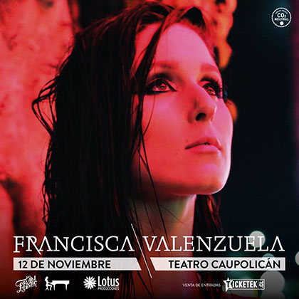 Francisca Valenzuela presentará su nuevo disco en el Teatro Caupolicán