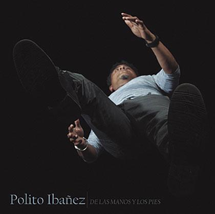 Portada del disco «De las manos y los pies» de Polito Ibáñez.