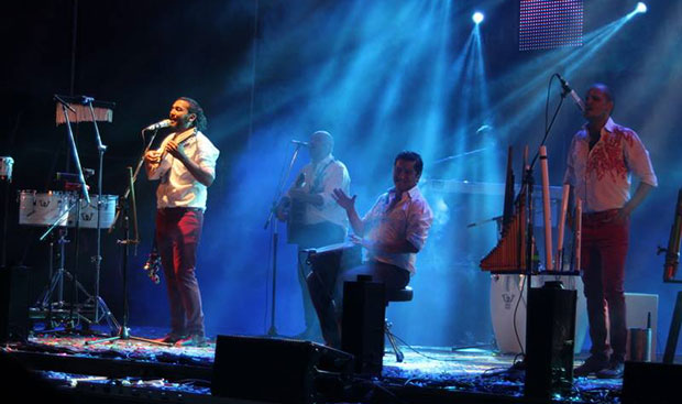 Los Tekis en el II Festival de La Pachamama de Lozano (Jujuy) 2014