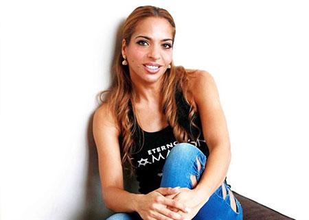 Gema Monje, hija de José Monje Cruz «Camarón de la Isla».