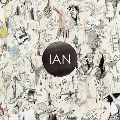 Portada del disco «Ian» de Ian Ramil.