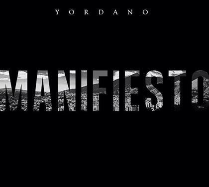 Portada del disco «Manifiesto» de Yordano.