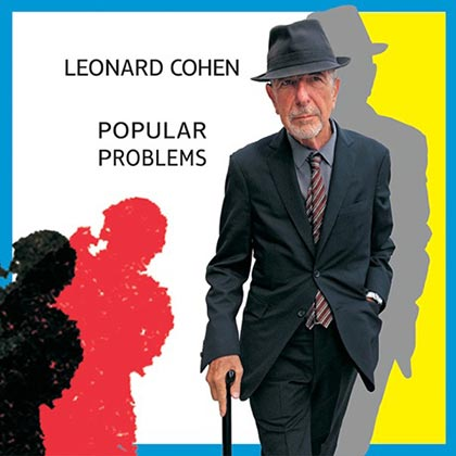 Portada del disco «Popular Problems» de Leonard Cohen.