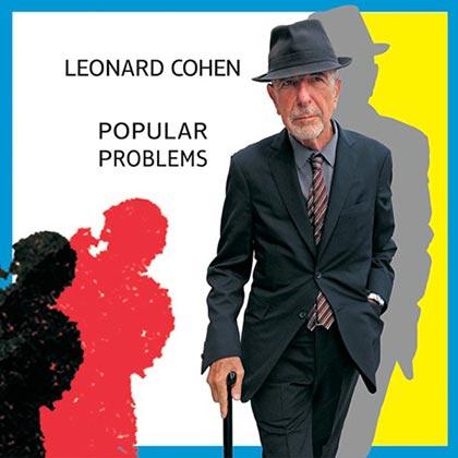 Portada del disco «Popular Problems» de Leonard Cohen.