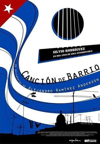 Cartel del documental «Canción de barrio» de Alejandro Ramírez Anderson.