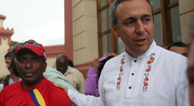 El ministro para la Cultura venezolano, Fidel Barbarito.