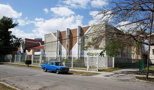 Los Estudios Abdala en la Calle 32 en Miramar (La Habana). © Chiquitica Rubalcaba