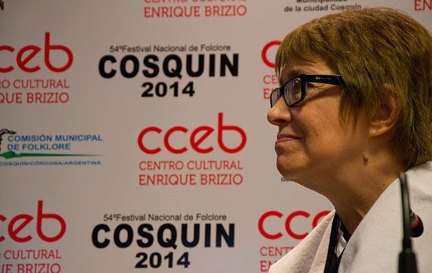 Teresa Parodi en Cosquín. © Ministerio de Cultura – Presidencia de la Nación
