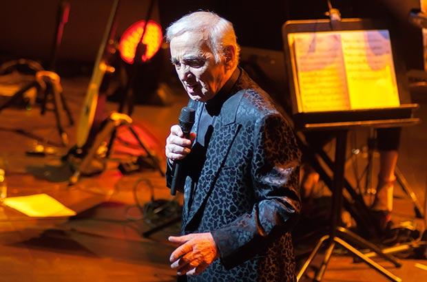 Charles Aznavour © Xavier Pintanel