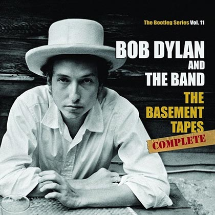 Portada del disco «The Basement Tapes Complete: The Bootleg Series Vol. 11» de Bob Dylan.