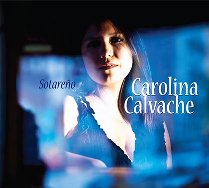 Portada del disco «Sotareño» de Carolina Calvache.