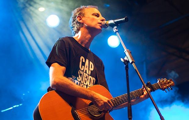 Lluís Gavaldà, cantante de Els Pets. © Xavier Pintanel
