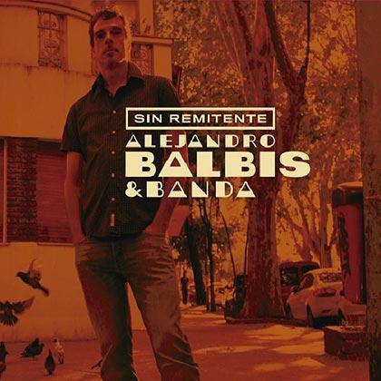 Portada del disco «Sin remitente» de Balbis.