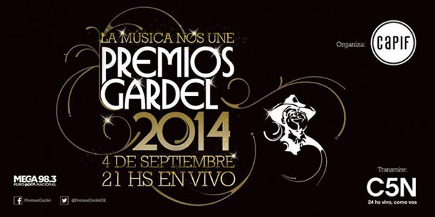 Premios Gardel a la Música 2014