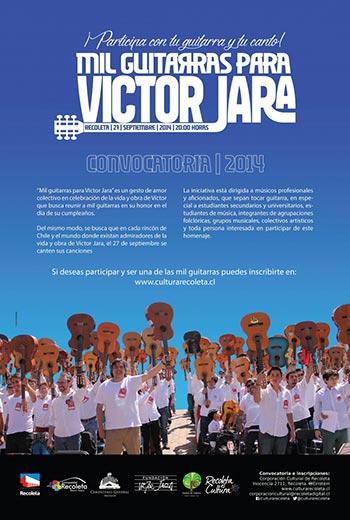 II Mil guitarras para Víctor Jara 2014