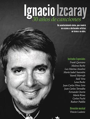 Ignacio Izcaray celebra sus 30 años de canciones