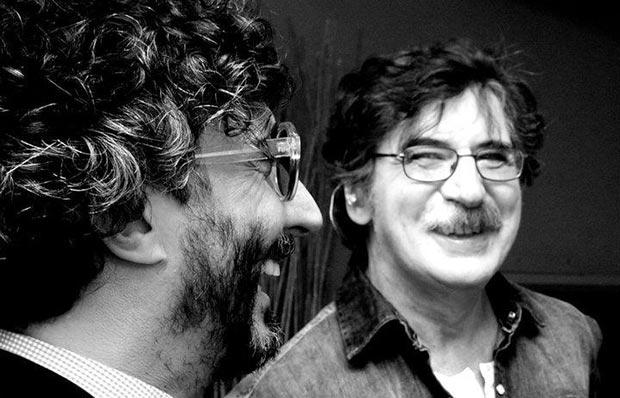 Fito Páez y Charly García. © Guido Adler