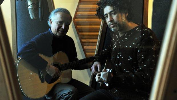 Fernando Ubiergo y Manuel García. © Canal 13