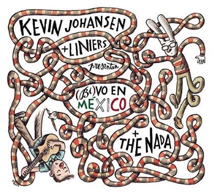 Portada de «(Bi) Vo en México» de Kevin Johansen y Liniers.