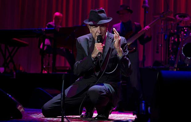 Leonard Cohen © EFE
