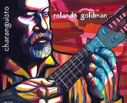 Portada del disco «Charanguisto» de Rolando Goldman.