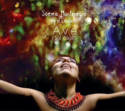 Portada del disco «Ave del cielo» de Soema Montenegro.