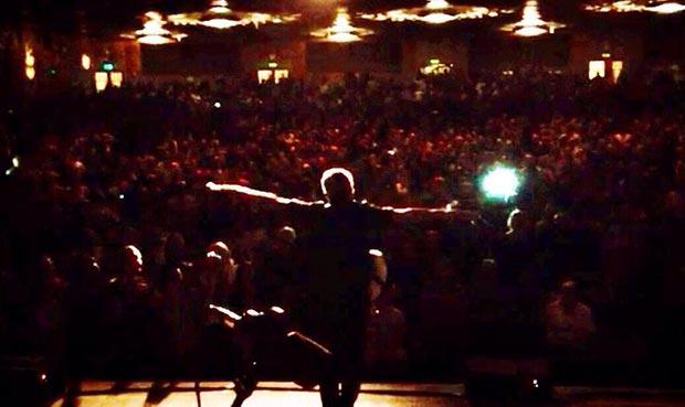 El cantautor brasileño Caetano Veloso en Oakland (California, EEUU).