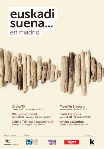 I Festival Euskadi Suena en Madrid