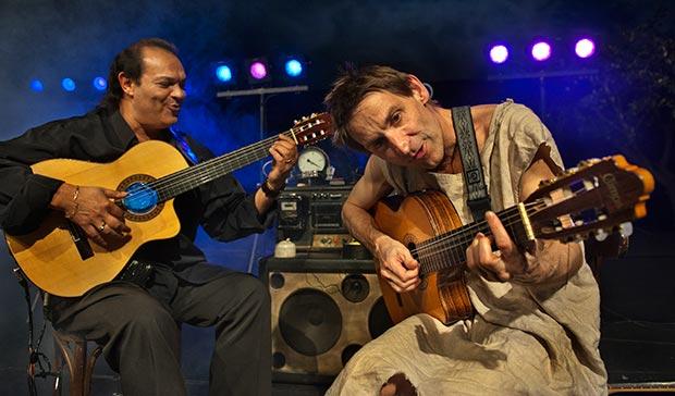 Albert Pla y Diego Cortés.