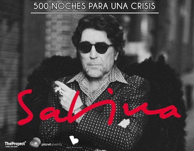 Joaquín Sabina actuará en diciembre en Madrid y Barcelona