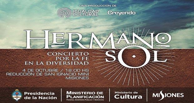 50 artistas argentinos en «Hermano Sol», un encuentro por la diversidad cultural