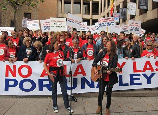 Canciones y música para protestar contra la Ley de Propiedad Intelectual en España