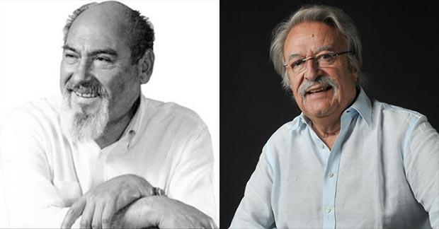 Armando Tejada Gómez y César Isella, autores de «Canción con todos»