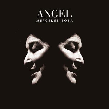 Portada del disco «Ángel» de Mercedes Sosa.